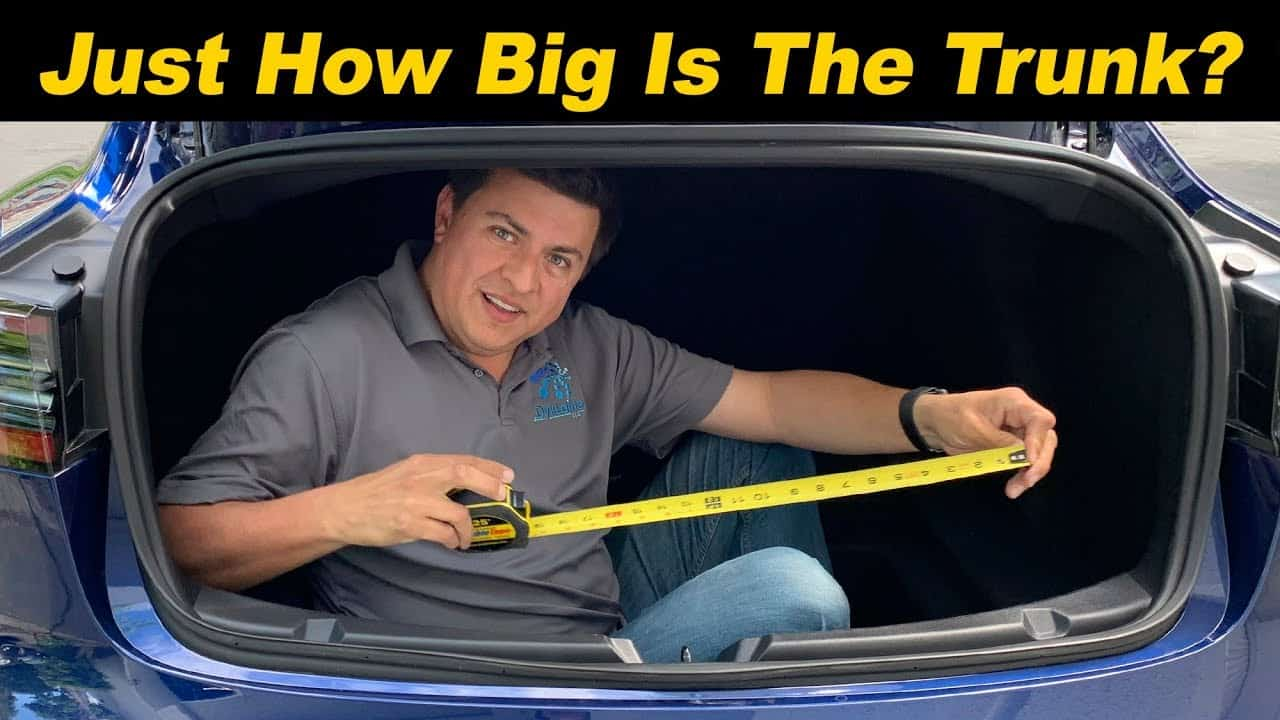 How Big is the Model 3's Trunk? 15 Cu Ft? More? - Alex on ...